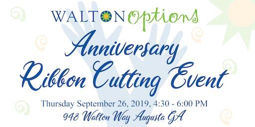 Walton Options Anniversary Ribbon Cutting