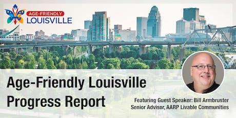 Age-Friendly Louisville Community Progress Report  tickets