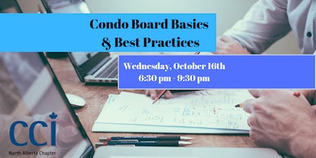 Condo Board Basics and Best Practices (CCI Seminar) tickets