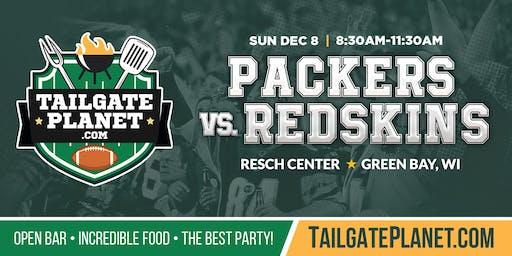 Resch Center VIP Tailgate – Packers vs. Redskins