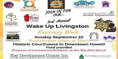 3rd Annual Livingston County Walk for Recovery