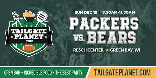 Resch Center VIP Tailgate – Packers vs. Bears