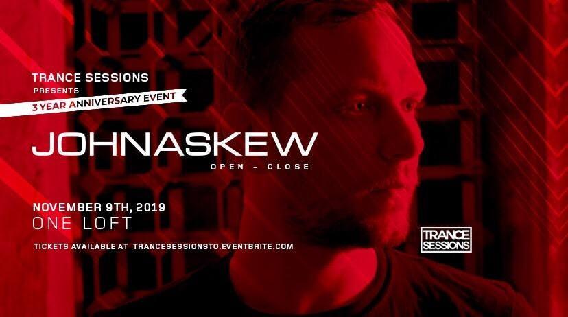 Trance Sessions 3 Year Series- John Askew (All Night Long)