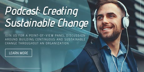 [Live Podcast] Organizational Change Management tickets