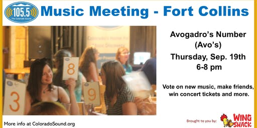 Fort Collins Music Meeting at Avo's