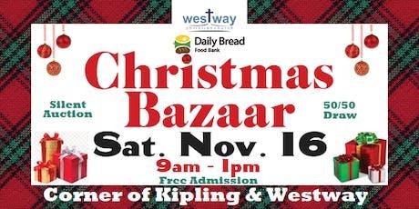 Christmas Bazaar Sale at Westway Christian Church tickets