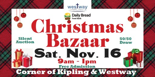 Christmas Bazaar Sale at Westway Christian Church