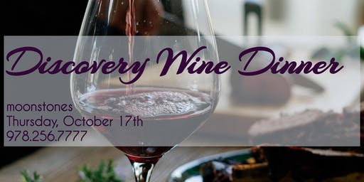 Discovery Wine Dinner