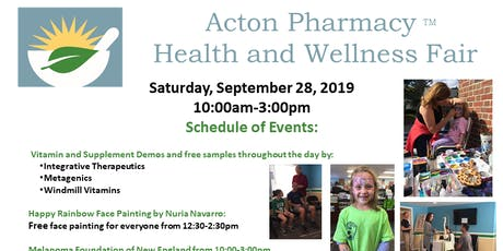 Acton Pharmacy Health & Wellness Fair tickets