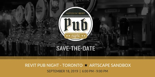 Revit Pub Night - Toronto