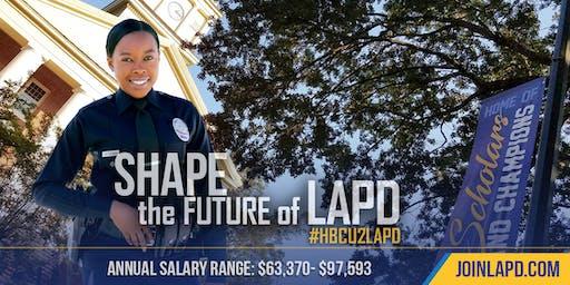 LAPD Testing at Alcorn State University