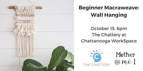 Beginner Macraweave: Wall Hanging tickets