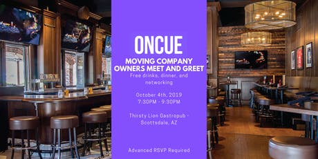 Moving Company Owner Meet and Greet! tickets