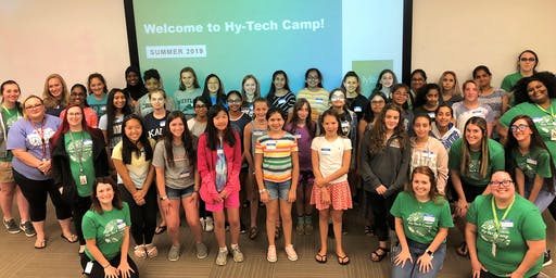 Girls Programming with Python Hy-Tech Camp