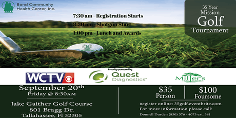 35 Year Mission Golf Tournament tickets