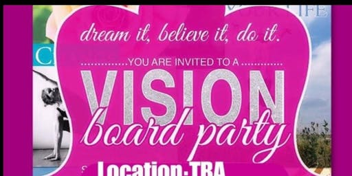 The Power of Prayer And Positivity Vision Board Party/Workshop
