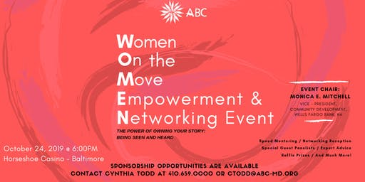 Women On The Move: Networking & Empowerment Event