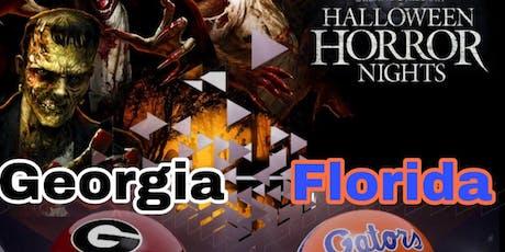 HALLOWEEN HORROR GA FL GAME TAILGATE  2019 tickets