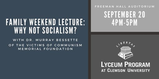 CISC Family Weekend Lecture