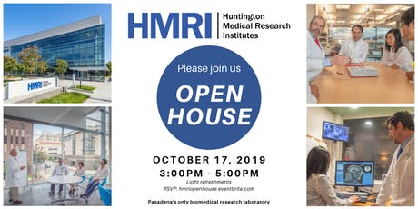 HMRI Open House tickets
