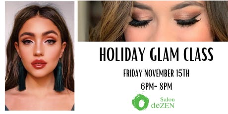 Holiday Glam Class tickets