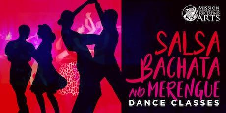 Salsa, Bachata & Merengue Dance Classes tickets