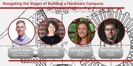 Navigating the Stages of Building a Hardware Company tickets