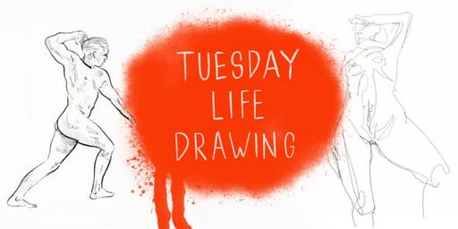 Tuesday Life Drawing @ Con Artist