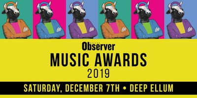 Dallas Observer Music Awards Showcase