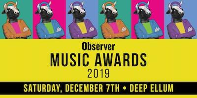 Dallas Observer Music Awards Showcase