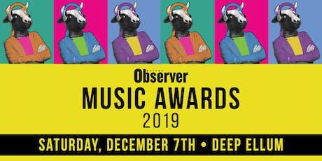 Dallas Observer Music Awards Showcase tickets