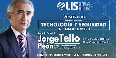 Desayuno/conferencia: Tecnología y Seguridad en Cada Kilómetro.  tickets