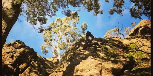 Climbing at Mt Macedon, 20th October 2019