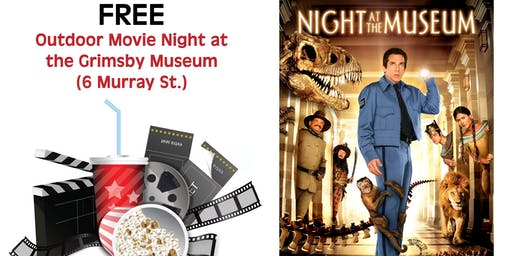 Outdoor Movie Night at the Grimsby Museum