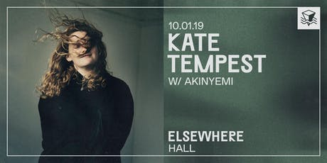 Kate Tempest @ Elsewhere (Hall) tickets