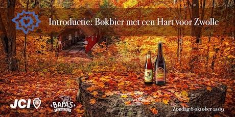 Introductie: Bokbier met een Hart voor Zwolle tickets