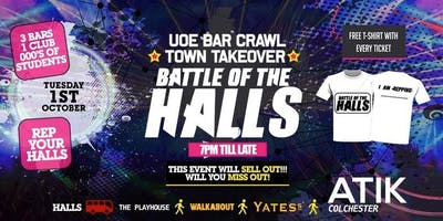 Battle Of The Halls BAR CRAWL - UoE Town Takeover