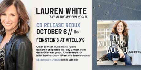 "Lauren White "" Life In The Modern World"" CD Release tickets"
