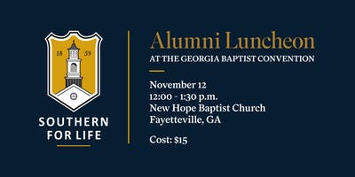 SBTS Alumni & Friends Lunch at the Georgia Baptist Convention