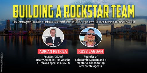 ROCKSTAR GROWTH - Building A Team To Double, Triple, Even 10X Your Income