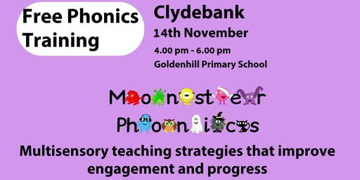 CLYDEBANK PHONICS TRAINING 14TH NOVEMBER