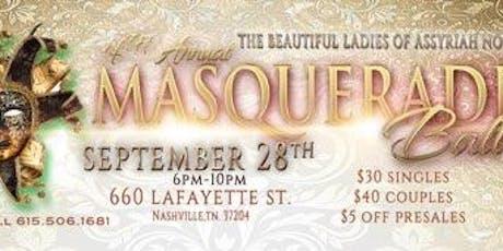 Assyriah's 4th Masquerade Ball tickets