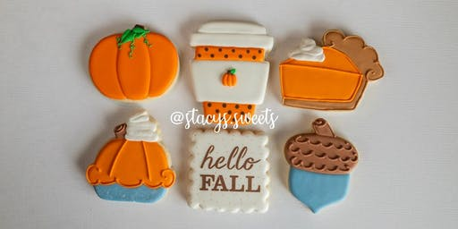 Hello Fall Beginner Cookie Decorating Class