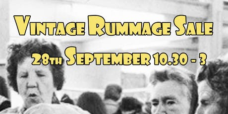 The Ultimate £2 Vintage Rummage Sale 70s 80s 90s vintage & retro clothing tickets