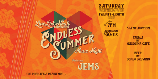 Live Like Noah Foundation Endless Summer Music Night