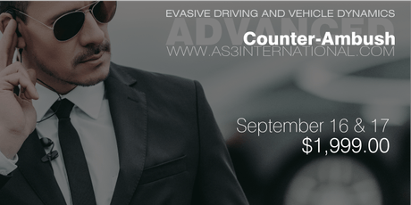 ADVANCED DRIVING COURSE FOR SECURITY PROFESSIONALS tickets