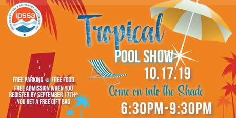 2019 Tropical Pool Show entradas
