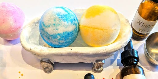 Bathbomb & Holder Workshop