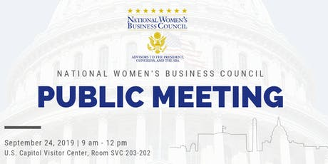 NWBC Public Meeting tickets