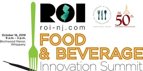 ROI-NJ Food & Beverage Innovation Summit tickets